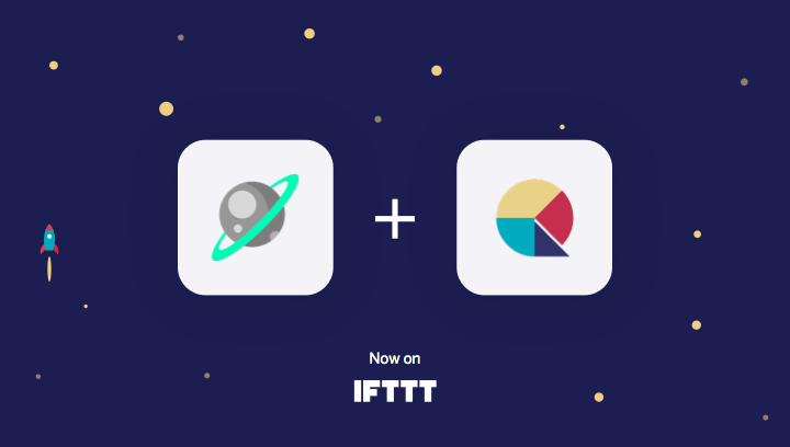 Space and Qapital on IFTTT