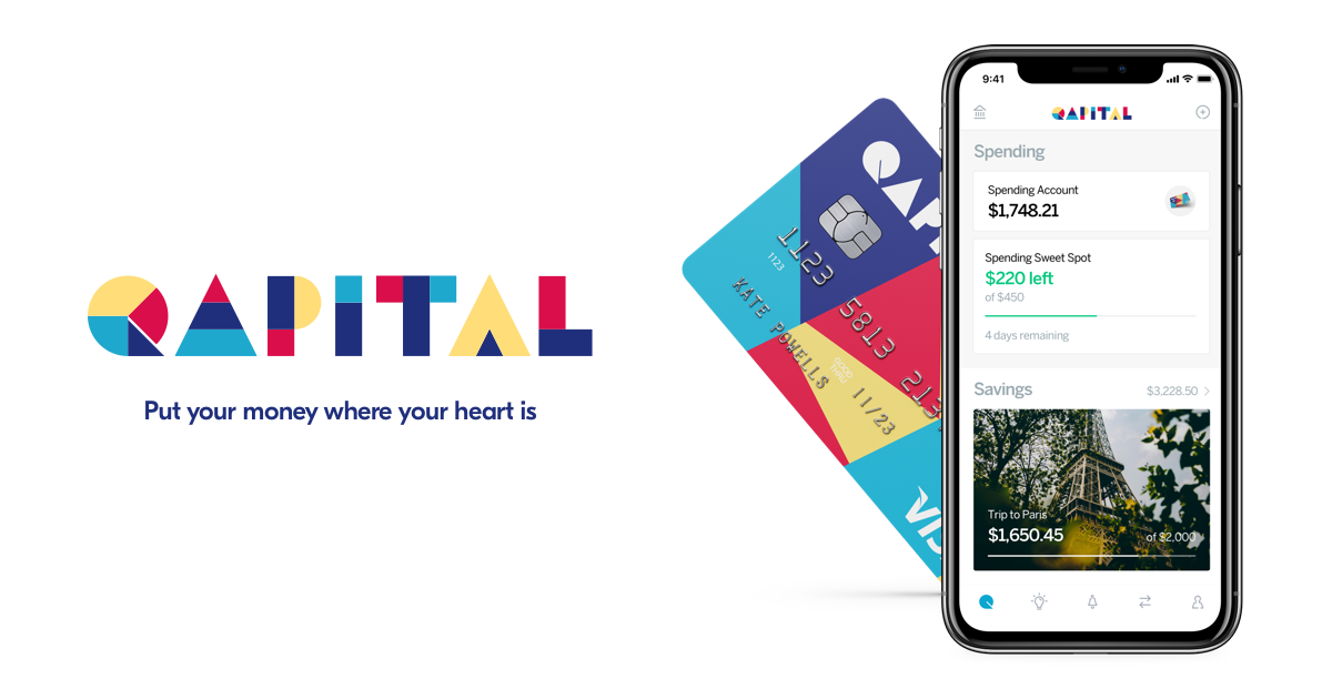 Qapital - Banking designed with your goals in mind